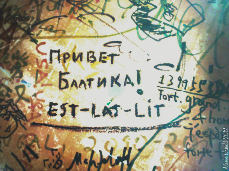 Privet Baltika pilt baaris